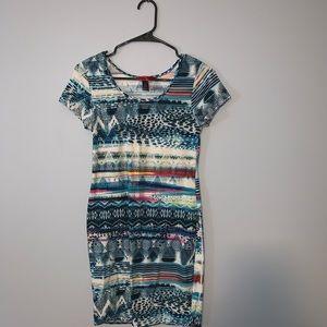 Hot Kiss -- Mini Bodycon Dress
